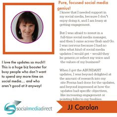 JJ Carolan LOVED the engagement boosting updates that freed up her time!! Will YOU experience the same??