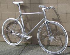 chrome road bike