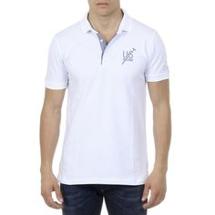 Color: White Size: L Made of: 95% COTTON 5% ELASTANE Details: US026 WHITE – Color: White – Composition: 95% COTTON 5% ELASTANE – Sleeve: Short Sleeves – Fit: Regular – Closure: Button Closure – Made: TURKEY – Front Logo – Logo on Sleeve Mens Sleeve, Polo Club, Polo Ralph Lauren, Short Sleeves, Closure, Cotton, Mens Tops, T Shirt, Composition
