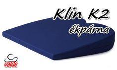 A valde® Klin K2 ék alakú ülőpárna farokcsont kivágással    A valde® Klin K2 ék alakú ülőpárna farokcsont kivágással biztosítja az ülő személy helyes testtartását, ezáltal csökkenti vagy megszünteti a gerincfájdalmakat.   A farokcsontkivágás még kényelmesebbé teszi az ülést, mivel igy a farokcsontra nem nehezedik nyomás.   Ajánlott ülő munkát végzőknek, autóvezetőknek.   http://uloparna.info/ekparna_gerinckimelo_uloparna_Klin_K2.html