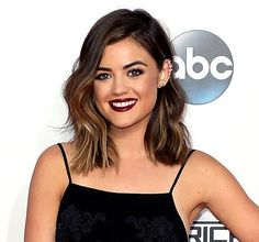 Lucy Hale's hair just got even shorter than this! See her new look: http://usm.ag/1EGhWqk