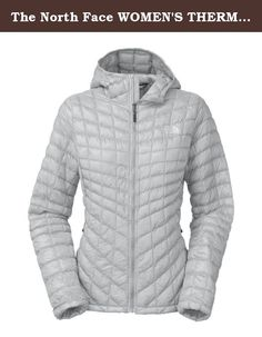 The North Face WOMEN'S THERMOBALL HOODIE Jacket CTL3A0M_M. With reliable ThermoBall� insulation that maintains its insulating power even when wet, The North Face ThermoBall� Hoodie is ready to ride, run and rock on. Super versatile and compressible, The North Face has made this awesome mid-layer stowable in its own pocket for easy packing.