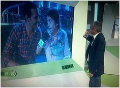 Entrevista en directo.  -  Gira de Amor y Desamor en Málaga