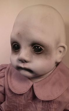 Fannie, Creepy OOAK Reborn,Horror, gothic Doll in Dolls & Bears, Dolls, Art Dolls-OOAK | eBay
