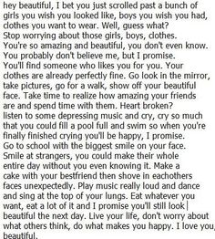 Decided to post it on this board because it has most of my followers. Stop scrolling for a second and read this. :)