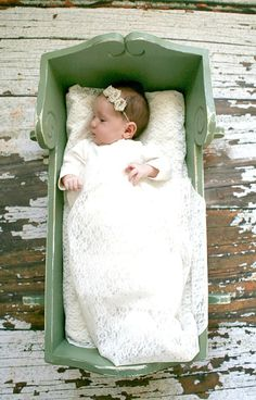 Newborn Photography Prop Cradle Ready to by MommasAPrincessToo, $125.00