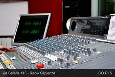 RadioSapienza mixer