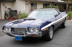 72 Ford Ranchero GT (from WA)