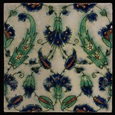 Tile   Pilkingtons Tile and Pottery Company   V&A Search the Collections