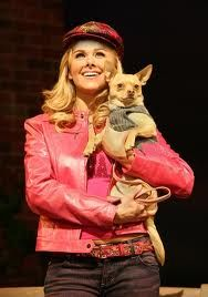 Elle in a Legally Blonde Musical