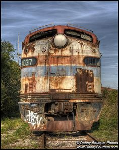 Abandoned Amtrak F-unit