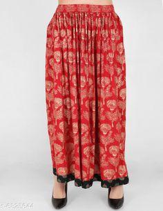 Skirts Trendy Women's Skirts   Fabric: Cotton Pattern: Printed Multipack: 1 Sizes:  Free Size (Waist Size: S-28 in Length Size: 44 in)  (M-30 in Length: 44 in) (L- 32 in Length: 44 in) (XL- 34 in Length: 44 in) (XXL- 36 in Length: 44 in) Country of Origin: India Sizes Available: 28, 30, 32, 34, 36   Catalog Rating: ★4 (250)  Catalog Name: Stylish Glamorous Women Skirts CatalogID_1089388 C79-SC1040 Code: 223-6825644-957