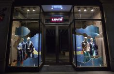 Levi's® Made & Crafted - Spring Summer 2014 scheme - Patience - Regent Street London Flagship - Lucky Fox January 2014
