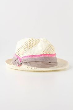 Too cute beach hat at Anthropologie