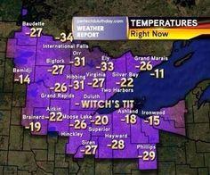 Minnesota weather....