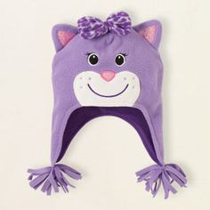 Children's Place fleece cat hat $9.95 For J
