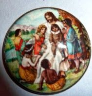 Motiwala Enamel Jesus with the Children.  Would like to find the one with the Three Wise Men