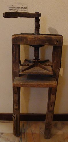 First press machine created by Abdallah Zakher