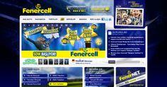 Fenercell banner çalışması..  #fenercell #fenerbahçe #reklam #banner