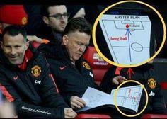 Trener Manchesteru United preferuje grę długą piłką • Marouane Fellaini kluczowym piłkarzem • Zobacz plan gry Louisa Van Gaala >> #manutd #manchesterunited #football #soccer #sports #pilkanozna #funny