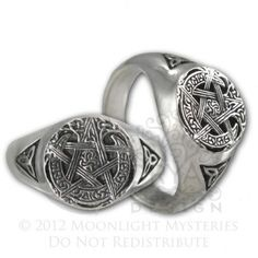 wiccan wedding rings 2 jpg jewelry - Pagan Wedding Rings