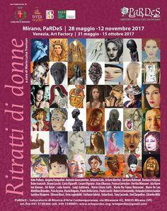 Ritratti di donne, Art Factory di Tobia Ravà, Venezia