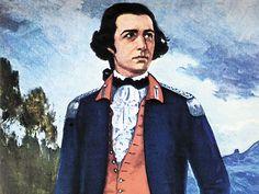 Joaquim José da Silva Xavier (Tiradentes) - Líder da Inconfidência Mineira e primeiro mártir da Independência do Brasil,