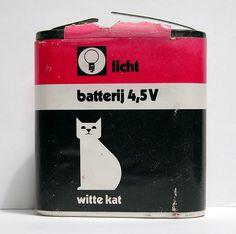 Witte kat - batterij - Nederland