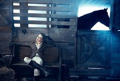Nicole Kidman for Vanity Fair, Hollywood Issue, March Photography by Norman Jean Roy at Hidden Trace Farm, Franklin, Tennessee. Celebrity Photography, Editorial Photography, Woman Photography, Photography Tips, Fashion Photography, Norman Jean Roy, Equestrian Chic, Equestrian Fashion, Johny Depp