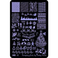 Hot Off The Stamping Press: New Bunny Nails HD Nail Art Stamping Plates!