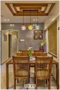 Wardrobe Design Bedroom, Room Design Bedroom, Home Room Design, Modern Bedroom, Dining Wall Decor, Dining Table Design, Room Decor, Dining Area, Hall Interior Design