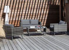Fauteuil détente Cane - mobilier de jardin Proloisirs | Mobilier ...