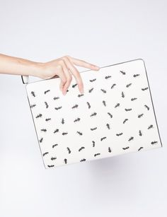 Pixie Market Ant leather clutch - Shop the latest Fashion Trends