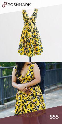 d7a597311c8 J. Crew Factory Floral Pique Dress Practically brand new J. Crew Factory  Floral Dress