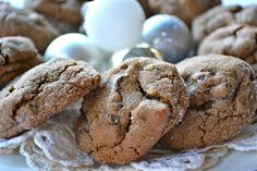 An easy recipe for soft and chewy Chocolate Gingerbread Cookies that will quickly become a holiday favorite!