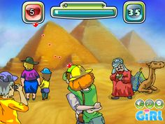 Egypt Pyramid Kissing Game - Dressup24h.com Kissing Games, Games For Girls, Egypt, Kids, Young Children, Boys, Children, Boy Babies, Child