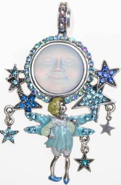 Kirks Folly SEAVIEW MOON WISH UPON A STAR MAGNETIC ENHANCER silvertone