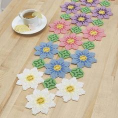 Craftways® Field of Flowers Table Runner Plastic Canvas Kit Was: $27.00                     Now: $22.99