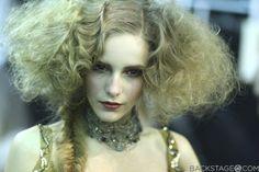 dior backstage hair