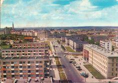 Białystok '70s ul. Skłodowskiej-Curie fot. J. Wendołowski