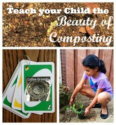 Composting projects: teach kids the benefits and how-to's of composting with activities to make composting fun and educational.