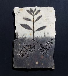 """Impressioni"" - Radici - Ceramica- Ceramic art By Giovanni Maffucci"