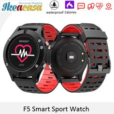 F5 GPS Smart Sport Watch Altimeter Barometer Thermometer Bluetooth 4.2 Smartwatch Wearable devices for iOS Android Phone Ikeacasa Montre Orologio Uhr часы Reloj