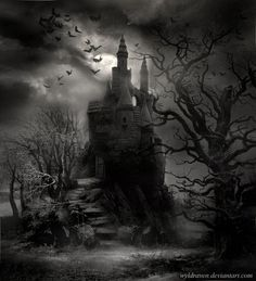 Pin by сергей on фон gothic castle, dark castle, gothic artwork. Gothic Horror, Arte Horror, Horror Art, Dark Fantasy Art, Dark Art, Gothic Castle, Dark Castle, Burg Tattoo, Castle Tattoo