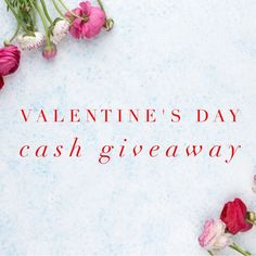 Enter for a chance to win $150 cash in celebration of Valentine's Day! Giveaway is open worldwide and ends 2/28/18. Good luck!