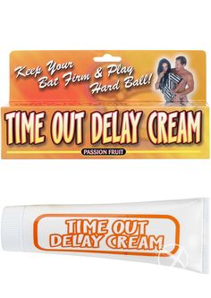 Buy Time Out Delay Cream Passion Fruit 1.5 Ounce online cheap. SALE! $7.99