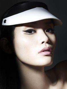 Vogue China - Liz Collins - 2012. Makeup by Lisa Eldridge http://www.lisaeldridge.com/gallery/editorial/ #Makeup #Beauty #Fashion
