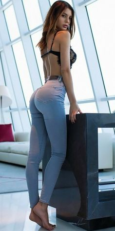 Jeans Hotties in tight