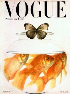 * vogue cover, 1947