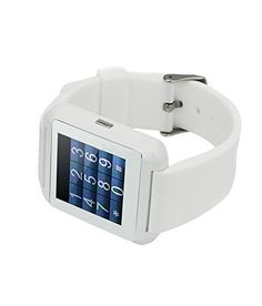 Bluetooth Smart Watch Compatible With iPhone Samsung HTC Huawei LG Xiaomi Android Phone. 11.00  #ApplicationSystem:Android/IOSScreenresolution:128*128 #BluetoothSmartWatchCompatibleWithiPhoneSamsungHTCHuaweiLGXiaomiAndroidPhone. #MainLine                  FeaturesSmart phones Support Sync Call Message. -Barometer/ Alarm / Stop Watch -Bluetooth version: V3.0 -Size: 40 * 47 * 9.9 mm -Touch...
